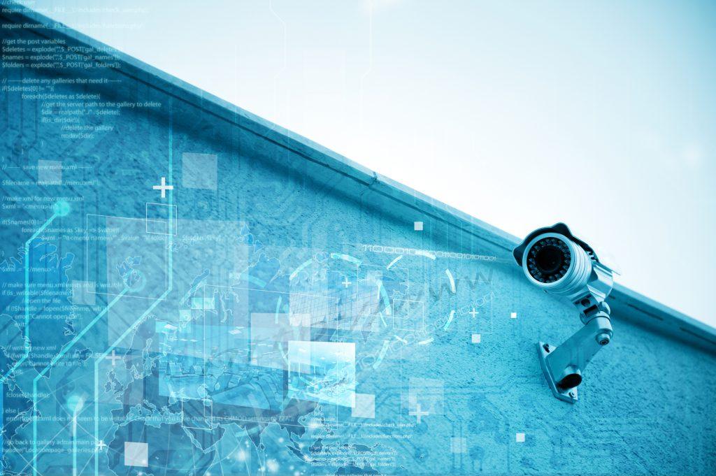 Modern security camera for surveillance