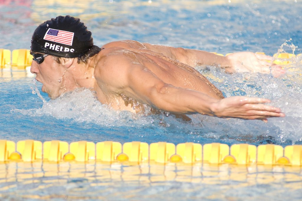 Michael Phelps butterfly 200 meter