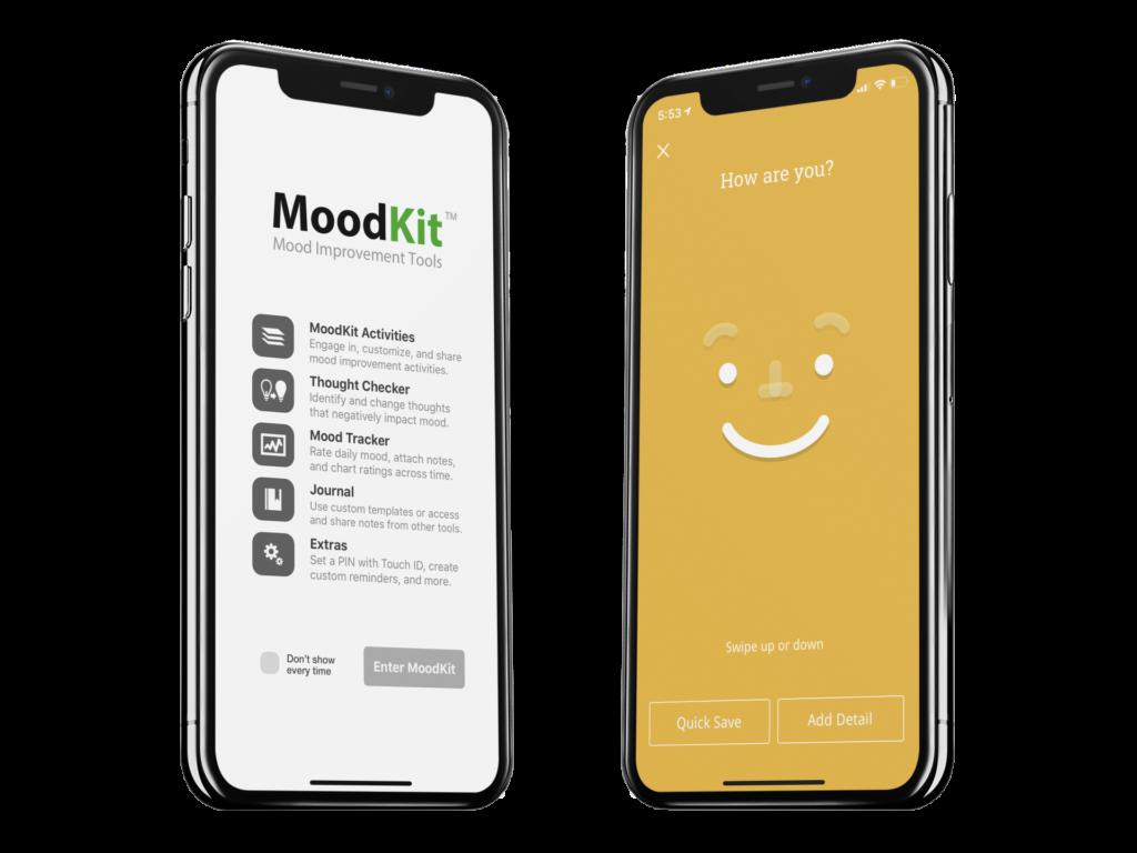 Moodkit for mental health
